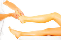 Leg therapy Stock Images