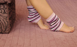 Leg warmers Stock Image