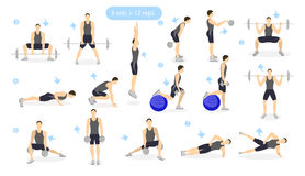 Deadlift Stock Illustrations – 295 Deadlift Stock ...