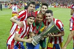 Lega Bucarest finale 2012 del Europa dell'UEFA Immagine Stock