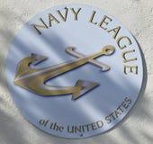 Lega della marina degli Stati Uniti fotografia stock libera da diritti
