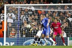 Lega di campioni di UEFA di calcio Chelsea v Juventus Fotografia Stock Libera da Diritti
