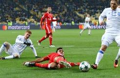 Lega di campioni di UEFA: FC Dynamo Kyiv v Benfica Immagine Stock Libera da Diritti