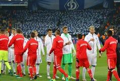 Lega di campioni di UEFA: FC Dynamo Kyiv v Benfica Fotografia Stock