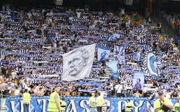 Lega di campioni di UEFA: FC Dynamo Kyiv v Young Boys immagine stock libera da diritti