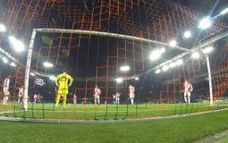 Lega di campioni di UEFA: Šakhtar v Feyenoord Immagine Stock Libera da Diritti