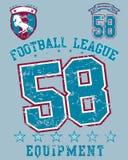 Lega di Football Americano Immagine Stock Libera da Diritti