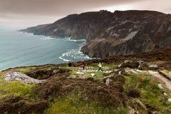 Lega di Slieve, contea il Donegal, Irlanda Fotografia Stock Libera da Diritti