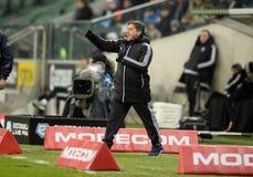 Lega extra Legia Varsavia Ruch Chorzow di T-Mobile Fotografia Stock