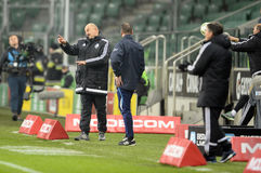 Lega extra Legia Varsavia Ruch Chorzow di T-Mobile Immagini Stock