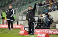 Lega extra Legia Varsavia Ruch Chorzow di T-Mobile Immagine Stock