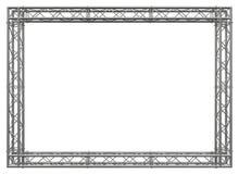 Lega il confine decorativo dell'acciaio inossidabile della costruzione illustrazione vettoriale
