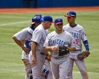 Lega Maggiore di Baseball: Lou Piniella Fotografie Stock Libere da Diritti
