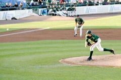 Lega minore del gioco di baseball Fotografie Stock
