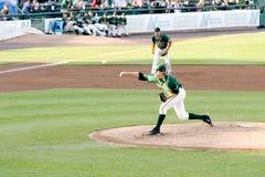 Lega minore del gioco di baseball Immagine Stock Libera da Diritti