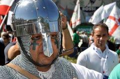 Lega Nord (Nordliga) Party-Jahresversammlung Stockbilder
