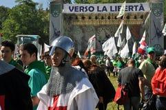 Lega Nord (Nordliga) Party-Jahresversammlung Lizenzfreie Stockbilder