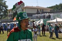 Lega Nord (Nordliga) Party-Jahresversammlung Lizenzfreie Stockfotografie
