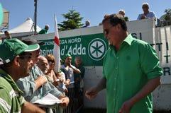 Lega Nord (Nordliga) Party-Jahresversammlung Lizenzfreie Stockfotos