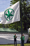 Lega Nord (Nordliga) Party-Jahresversammlung Stockfotografie