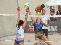 Lega Volley Summer Tour 2015 Stock Images