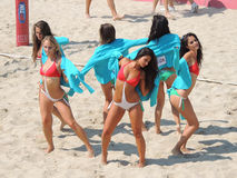Lega Volley Summer Tour 2015 Stock Image