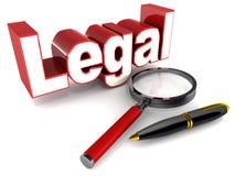 legal Imagem de Stock