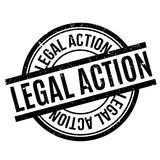 Legal Action rubber stamp Royalty Free Stock Images
