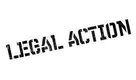 Legal Action rubber stamp Royalty Free Stock Photo