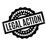 Legal Action rubber stamp Stock Image
