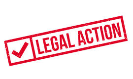 Legal Action rubber stamp Stock Photos