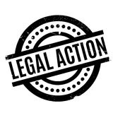Legal Action rubber stamp Stock Images
