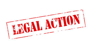 Legal action Royalty Free Stock Images