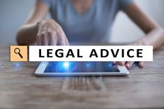 Legal advice ext on virtual screen. Consulting. Attorney at law. lawyer, Business and Finance concept. Legal advice ext on virtual screen. Consulting. Attorney Stock Images