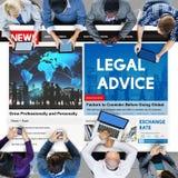 Legal Advice Headline News Feed Concept Stock Photography