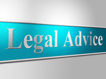 Legal Advice Indicates Support Criminal And Assist Stock Images
