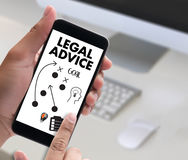 LEGAL ADVICE (Legal Advice Compliance Consulation Expertise Help Royalty Free Stock Photography