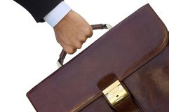 Legal adviser bag Royalty Free Stock Image