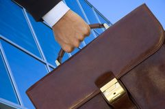 Legal adviser bag Stock Photo