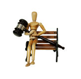 Legal bench Royalty Free Stock Images
