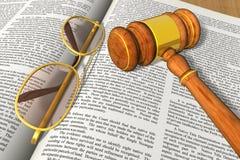 Legal/bidding concept Stock Photography