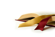 Legal book with ribbons Royalty Free Stock Photos