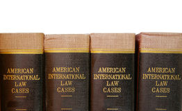 Legal books Stock Image