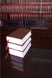 Legal books #18 stock image