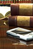 Legal books #28. Legal books on table Royalty Free Stock Photo