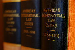 Legal books Royalty Free Stock Photo