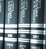 Legal books law reports Royalty Free Stock Photo