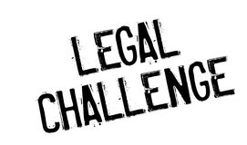 Legal Challenge rubber stamp Stock Photos