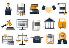 Legal compliance deal protection and copyright regulation. Copyright legal, protection and regulation, regulate compliance agreement, vector illustration Stock Image