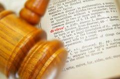 Legal divorce Stock Image